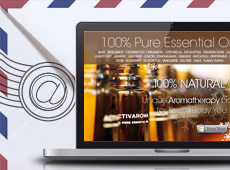 Activaroma – réalisation d'une campagne de Newsletters