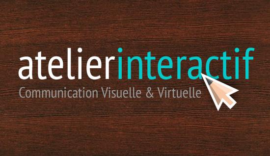 Atelier Interactif – création de logo
