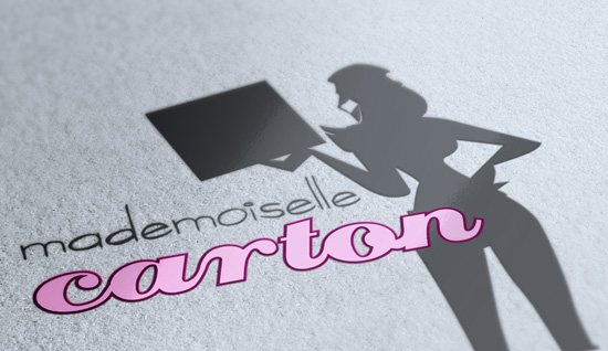 Mademoiselle Carton – création de logo