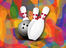 Bowling Le Nagada – création de logo