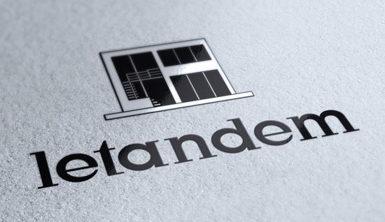 Le Tandem – création de logo