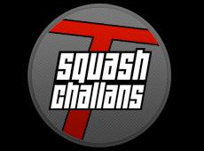 Squash Challans – création de logo