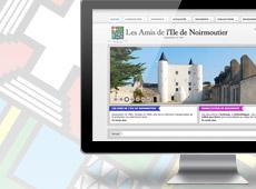 Amis de l'Ile de Noirmoutier – création de site internet catalogue