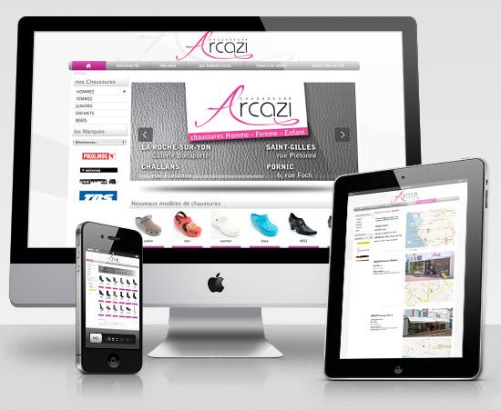 Arcazi – création de site internet catalogue en ligne