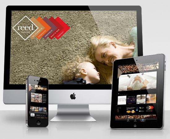 Reed Floors – création de site internet catalogue en ligne