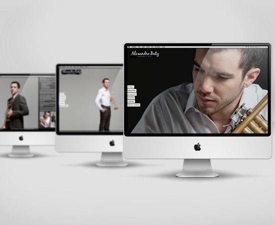 Alexandre Baty – création de site internet vitrine