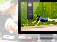 Squash Challans – création de site internet vitrine / blog