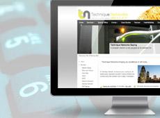 Technique Networks – création de site internet vitrine